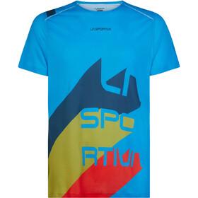 La Sportiva Stream T-shirt Herrer, neptune/opal